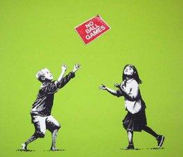 """Legaler Bilderklau: """"No Ball Games"""" von Banksy ist 12.000 Euro wert"""