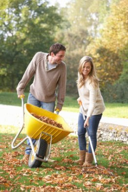 Das Herbstlaub sinnvoll einsetzen