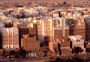 Das Manhattan der Wüste: Shibam - eine ganze Stadt auf Lehm gebaut