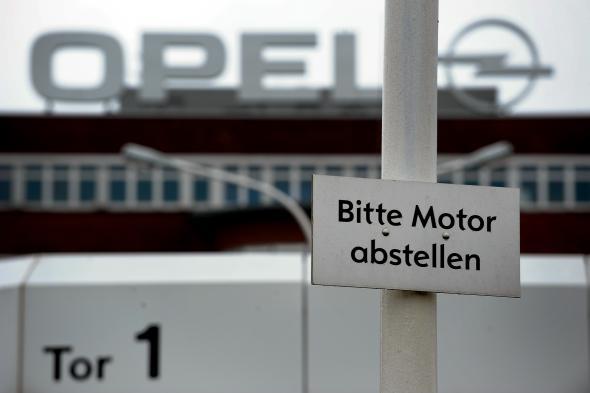 Das Opel Werk in Bochum.