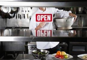 Sauberkeit und Hygiene: Das Restaurant hat geöffnet