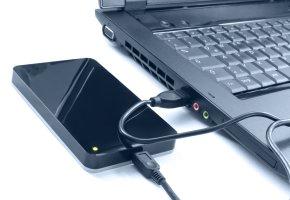 Datensicherung auf eine externe Festplatte
