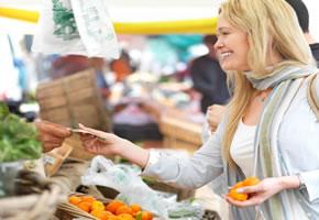 Der Einkauf mit der Regionalwährung