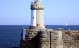 Der Leuchtturm von St. Peter Port auf der Insel Guernsey