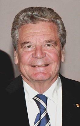 Bundespräsident Dr. Joachim Gauck