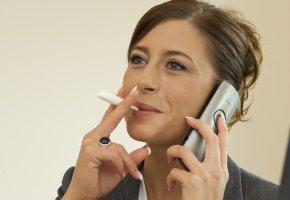 Nicorette Inhalator im täglichen Einsatz