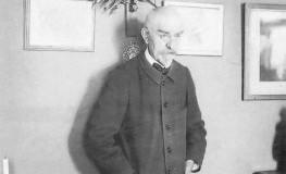 Der französische Schriftsteller Joris Karl Huysmans