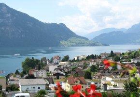Der Vierwaldstättersee in Luzern