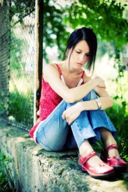 Desillusioniert - der jungen Frau ist die Enttäuschung anzusehen