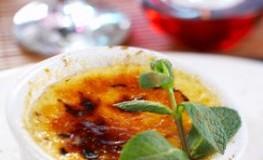 Dessert Crème brûlée