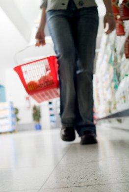 Diabetiker - Einkauf im Supermarkt