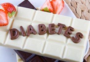 Diabetiker-Schokolade mit Fruktose-Zucker