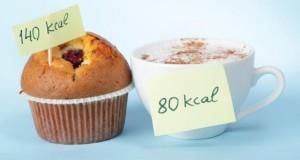 Kalorienbilanz durch Kalorienzählen.