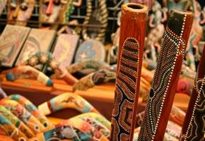 Das Didgeridoo ist das Musikinstrument der Aborigines in Australien.