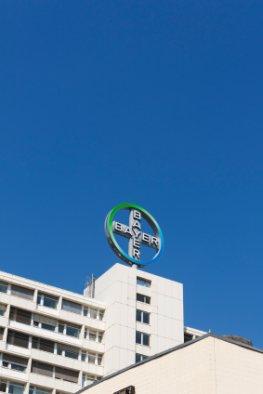 Die Bayer AG. ist der Hersteller von Aspirin