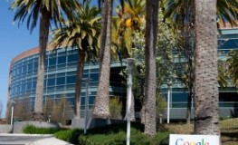 Die Firmenzentrale von Google - Montainview in Californien