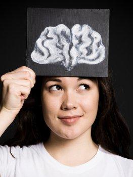 Die Gehirnhälften arbeiten ausgeglichen miteinander