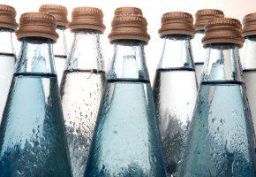 Wasserflaschen - mit Mineralwasser löscht am besten seinen Durst