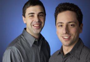 Die Gründer von Google - Larry Page und Sergei Brin