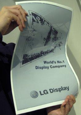 E-Paper - die neuen flexiblen Displays von LG