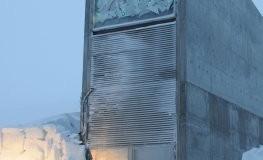 Die Weltsaatgutbank Svalbard Global Seed Vault in Spitzbergen (Norwegen)