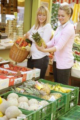 Do-it-yourself Diät - Einkauf beim Gemüsehändler