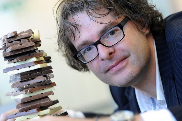Er hatte eine tolle Idee - Dr. Stefan Bon hat eine neue fettarme Schokolade entwickelt.