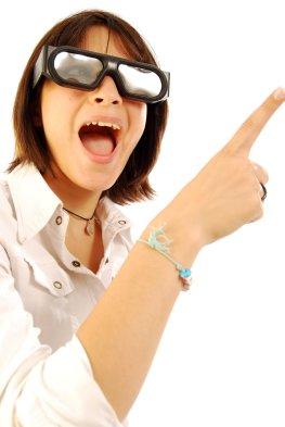 Dreimensional - Räumliches Sehen mit einer Pol-Brille