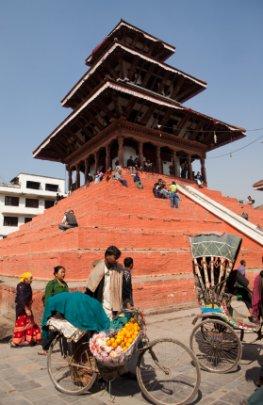 Durbar-Square in Kathmandu, Nepal