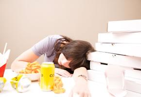 Dyspeptische Beschwerden nach dem Essen