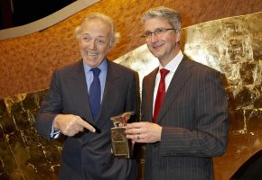 Edouard Carmignac und Rupert Stadler - Vorstandsvorsitzender der Audi AG