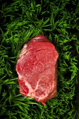 Ein Filet - geklebt mit Fleischkleber