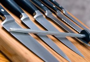 Eine Auswahl an Küchenmesser