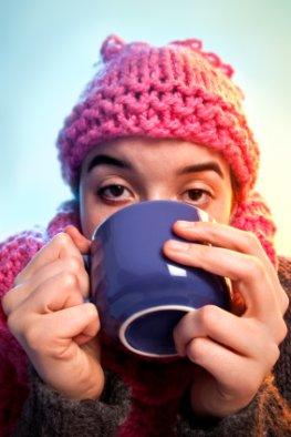 Eine Erkältung schwächt den Organismus