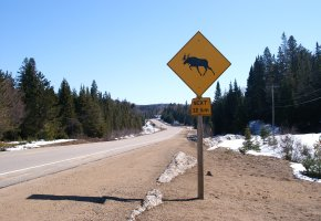 Eine Route durch Kanada