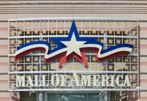 Der Eingangsbereich der Mall of Amerika
