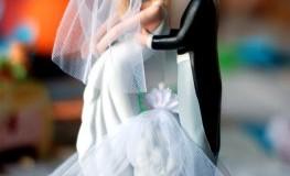 Hochzeitstorte Brautpaar: Einladung zur Hochzeit