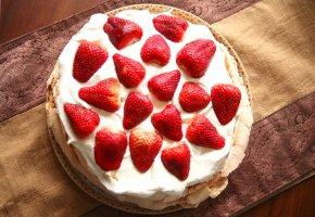 Eischnee Torte - Pavlova Baiser