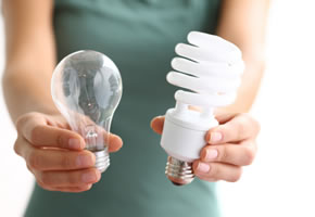 Energie sparen mit Energiesparlampen