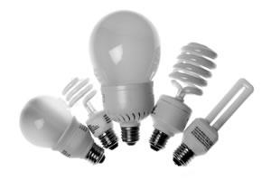 Verschiedene Energiesparlampen