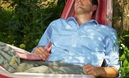 Entspannung in der Hängematte