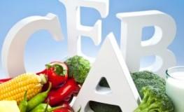 Vitaminbedarf - über eine gesunde Ernährung kann man ausreichend Vitamine zuführen.