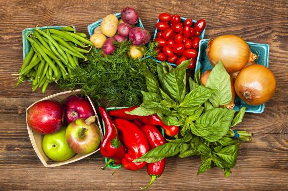 Functional Food aus dem Garten oder vom Gemüsehändler.