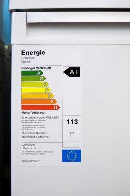 Haushaltgeräte:  EU-Energielabel für Elektrogeräte