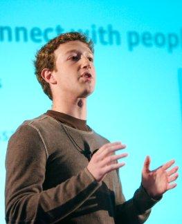Facebook-Gründer Mark Zuckerberg ist die Nummer 1 bei Google+