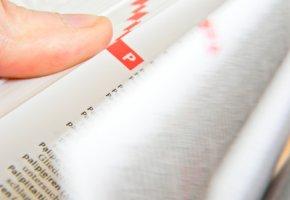 Nachgeschlagen - Fachausdrücke in einem Buch nachlesen