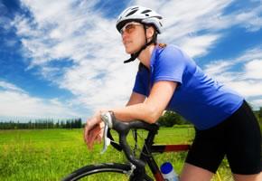 Radfahren - Mit dem Fahrrad unterwegs