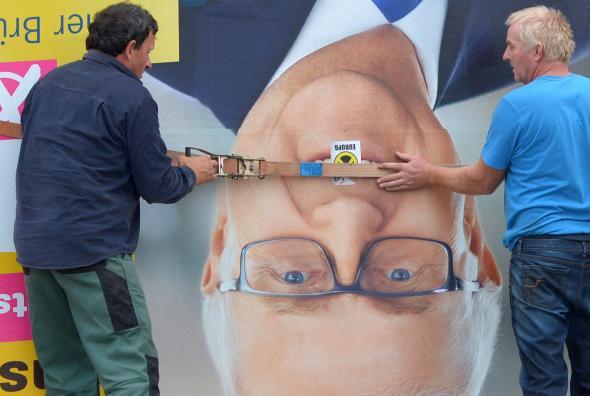 DIe FDP hat den Einzug in den Bundestag bei der Bundestagswahl 2013 verpasst.