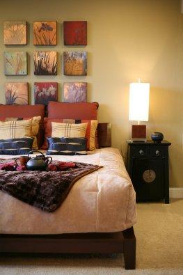 Fernöstliche Wohnkultur - Schlafzimmer im Asia-Design