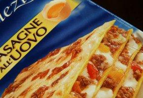 Fertigmahlzeit - Die Lasagne ist voll mit Zusatzstoffen und Kalorien